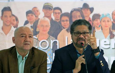 Former FARC rebels make debuts in Colombian elections
