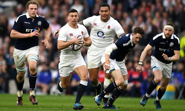 """<span class=""""element-image__caption"""">Ben Youngs says England will try to impose themselves on Ireland in the first 20 minutes.</span> <span class=""""element-image__credit"""">Photograph: Shaun Botterill/Getty Images</span>"""
