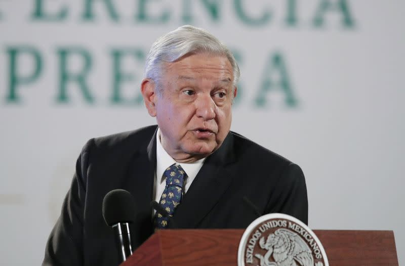 Mexico's President Lopez Obrador holds news conference in Mexico City