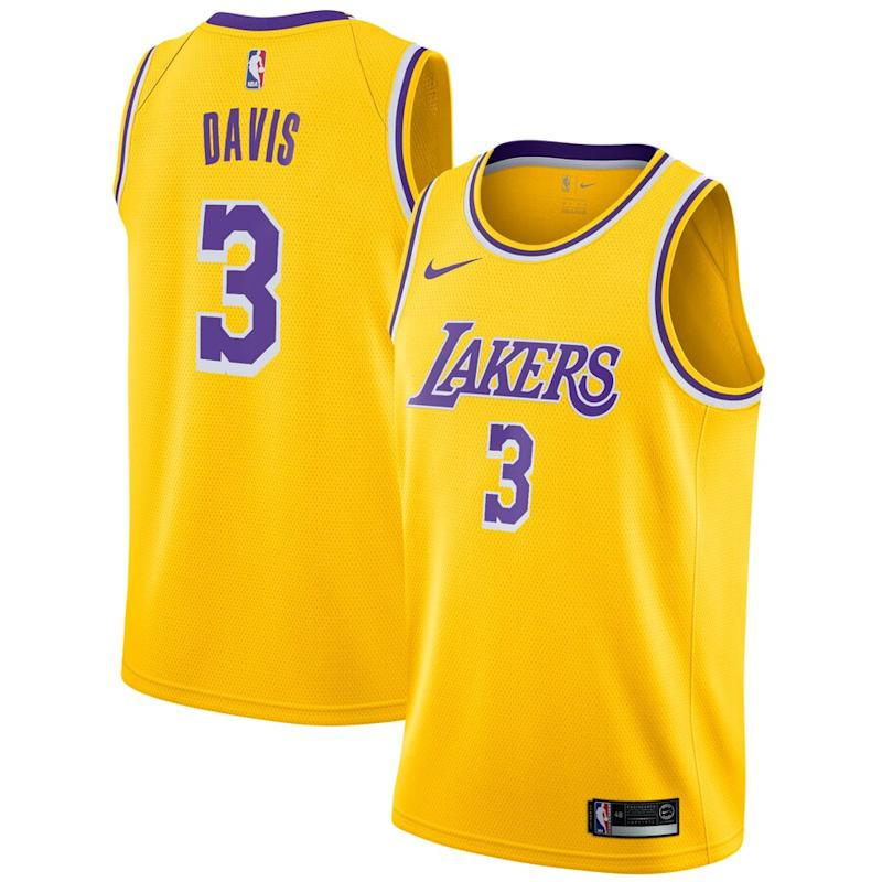 Anthony Davis Los Angeles Lakers Nike 2019/20 Jersey