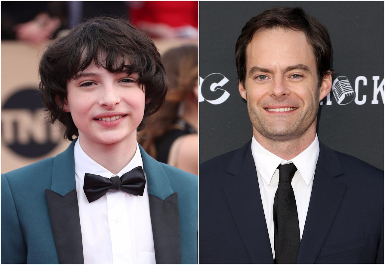 <p>'Stranger Things' actor Finn Wolfhard, cast beautifully against type as motormouth Richie, has already suggested Hader as a suitable adult counterpart, and who are we to argue? (Picture credit: WENN) </p>
