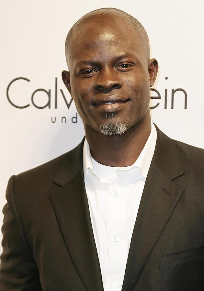 "Djimon Hounsou was living on the streets of Paris when he was discovered by a fashion designer. But it was his turn as an African slave in ""Amistad"" that made Hollywood stand up and take notice. The Benin-born hunk hasn't forgotten his modeling roots; he's currently the face (and body) of Calvin Klein. John Parra/<a href=""http://www.wireimage.com"" target=""new"">WireImage.com</a> - September 5, 2007"