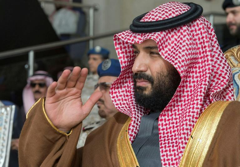 Saudi Crown Prince Mohammed bin Salman, shown attending an air force graduation ceremony on February 21, is the driving force behind reform efforts