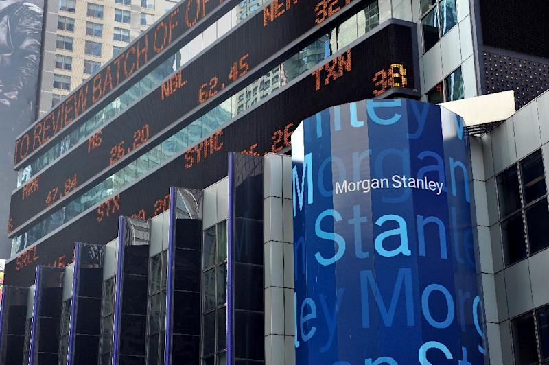 """Morgan Stanley says Brexit will have a """"very considerable impact"""" (AFP Photo/Stan Honda)"""