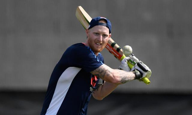 """<span class=""""element-image__caption"""">Ben Stokes has kept himself fit and and is in line to play for England in the first ODI against New Zealand. </span> <span class=""""element-image__credit"""">Photograph: Stu Forster/Getty Images</span>"""