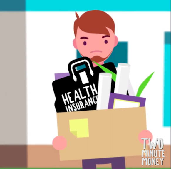 Lose your job? Be sure to pack up a plan for your health insurance.