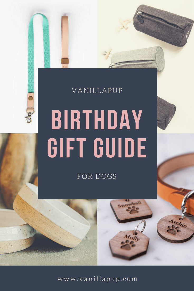 Vanillapup Dog Birthday Gift Ideas
