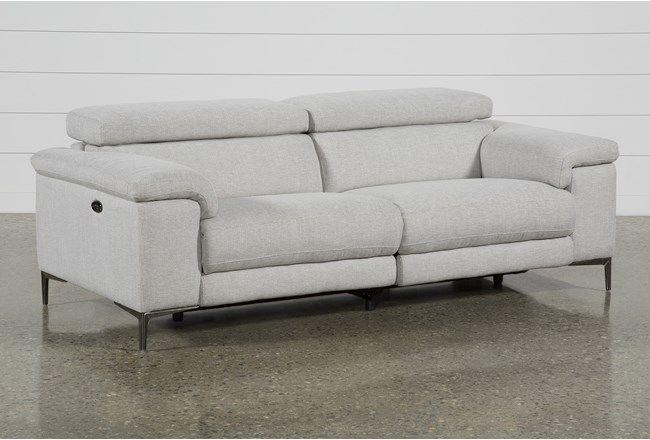 "<p>livingspaces.com</p><p><strong>$995.00</strong></p><p><a href=""https://www.livingspaces.com/pdp-talin-linen-power-reclining-sofa-with-usb-249388"" rel=""nofollow noopener"" target=""_blank"" data-ylk=""slk:Shop Now"" class=""link rapid-noclick-resp"">Shop Now</a></p><p>Not only does this sofa recline (with power motion, might I add!), it also has adjustable headrests <em>and</em> built-in USB ports so you don't have to get up to charge your phone. </p>"