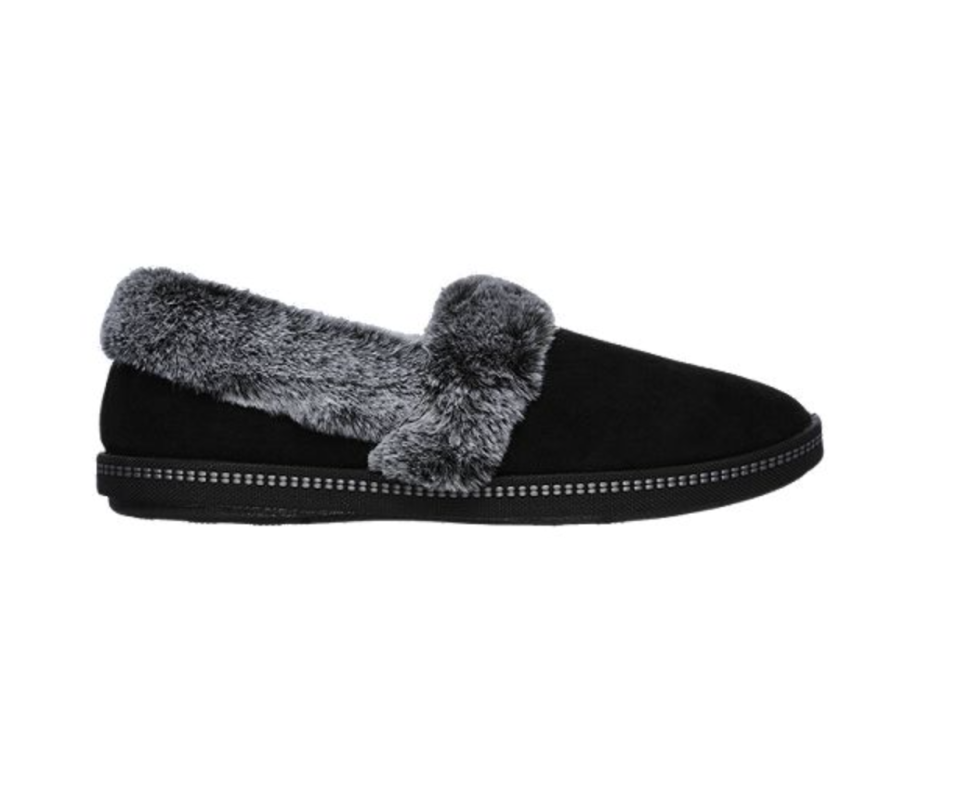 Skechers Women's Cozy Campfire Team Toasty Slippers are on sale now at Sport Chek, $25 (originally $50).