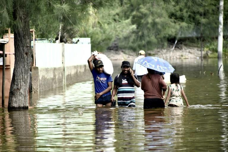 Environmental disasters like the flooding seen here in Dili, East Timor, on April 9, 2021, have hammered low-income countries already struggling with the costs of the Covid-19 pandemic