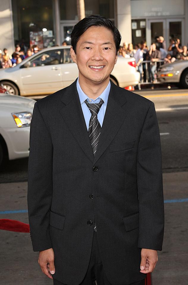 """<a href=""""http://movies.yahoo.com/movie/contributor/1809737459"""">Ken Jeong</a> at the Los Angeles premiere of <a href=""""http://movies.yahoo.com/movie/1810044687/info"""">The Hangover</a> - 06/02/2009"""