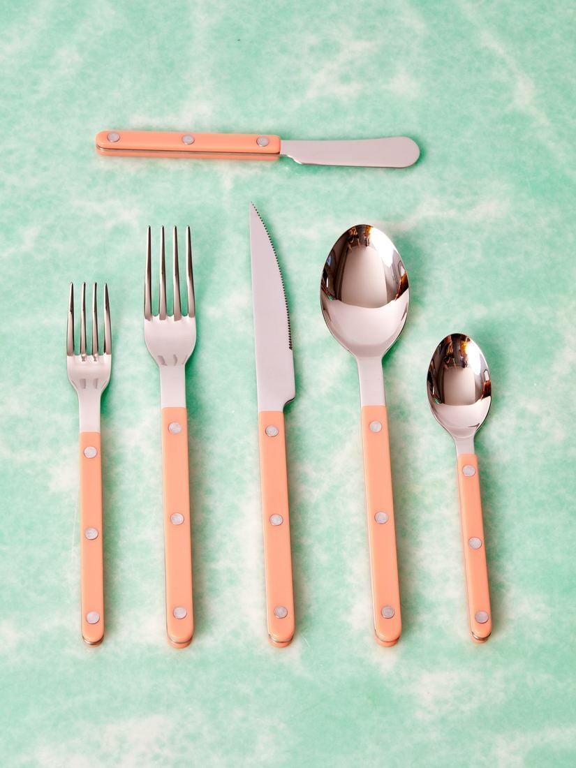<p>This <span>Stainless Steel Flatware</span> ($12 each) is so pretty to look at, they'll use it for special occasions only. The set is an investment they'll cherish for years.</p>