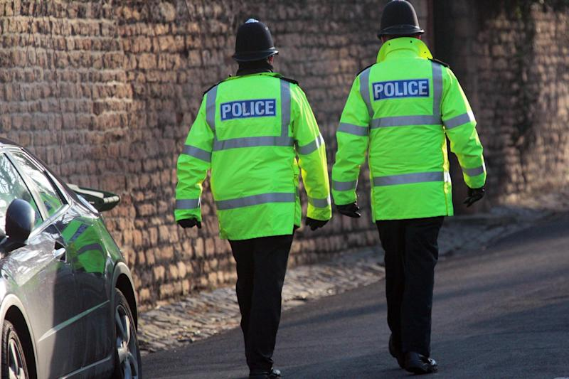Sacked: The two police officers did not realise they were being recorded when they left the voicemail: Getty Images