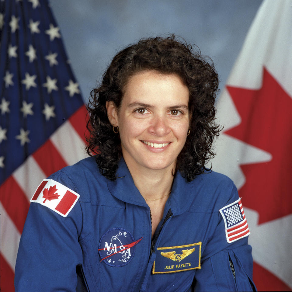 Julie Payette, Julie Payette, An International Astronaut, Mission Specialist, Representing The Canadian Space Agency (Csa). (Photo By Encyclopaedia Britannica/UIG Via Getty Images)