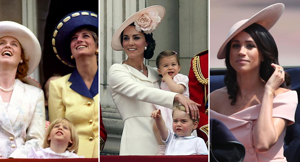 See the best photos of Trooping the Colour through the years. (PA Images)