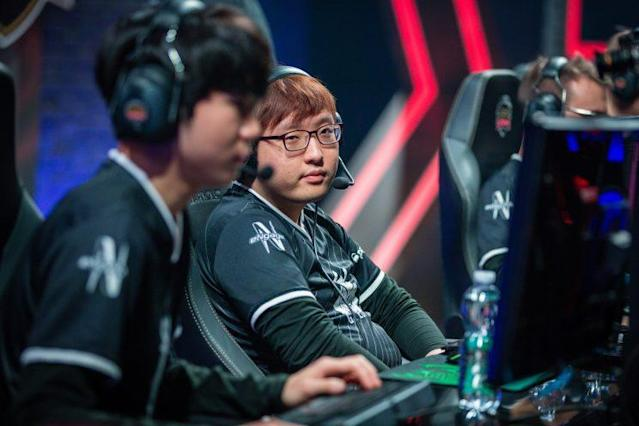 Trick is the jungler for G2 Esports (lolesports)