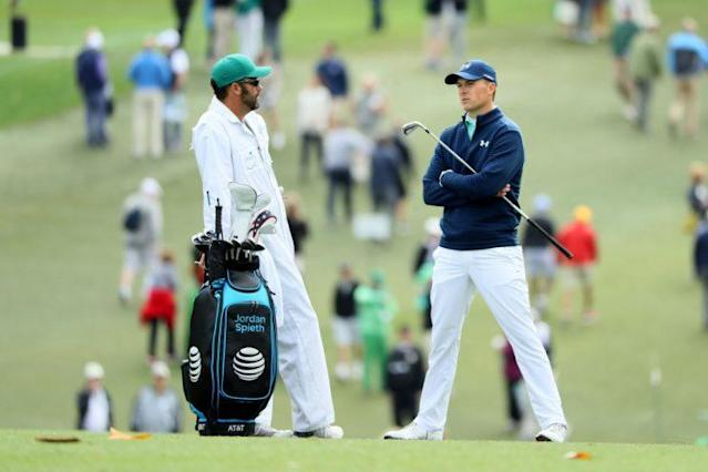 Thursday's round at Augusta wasn't one to remember for Jordan Spieth. (Getty)