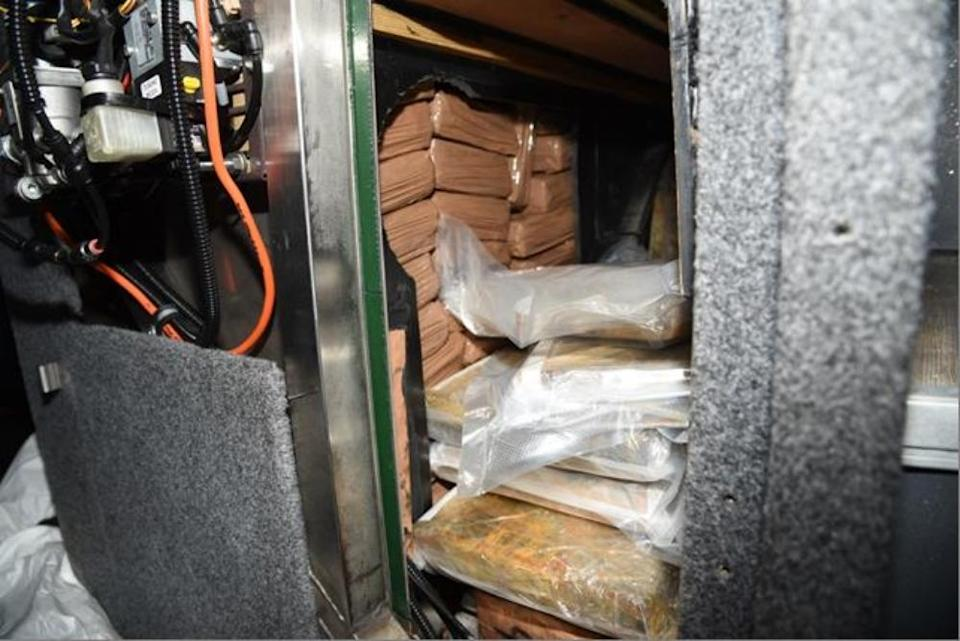 Drugs bust operation in Dover