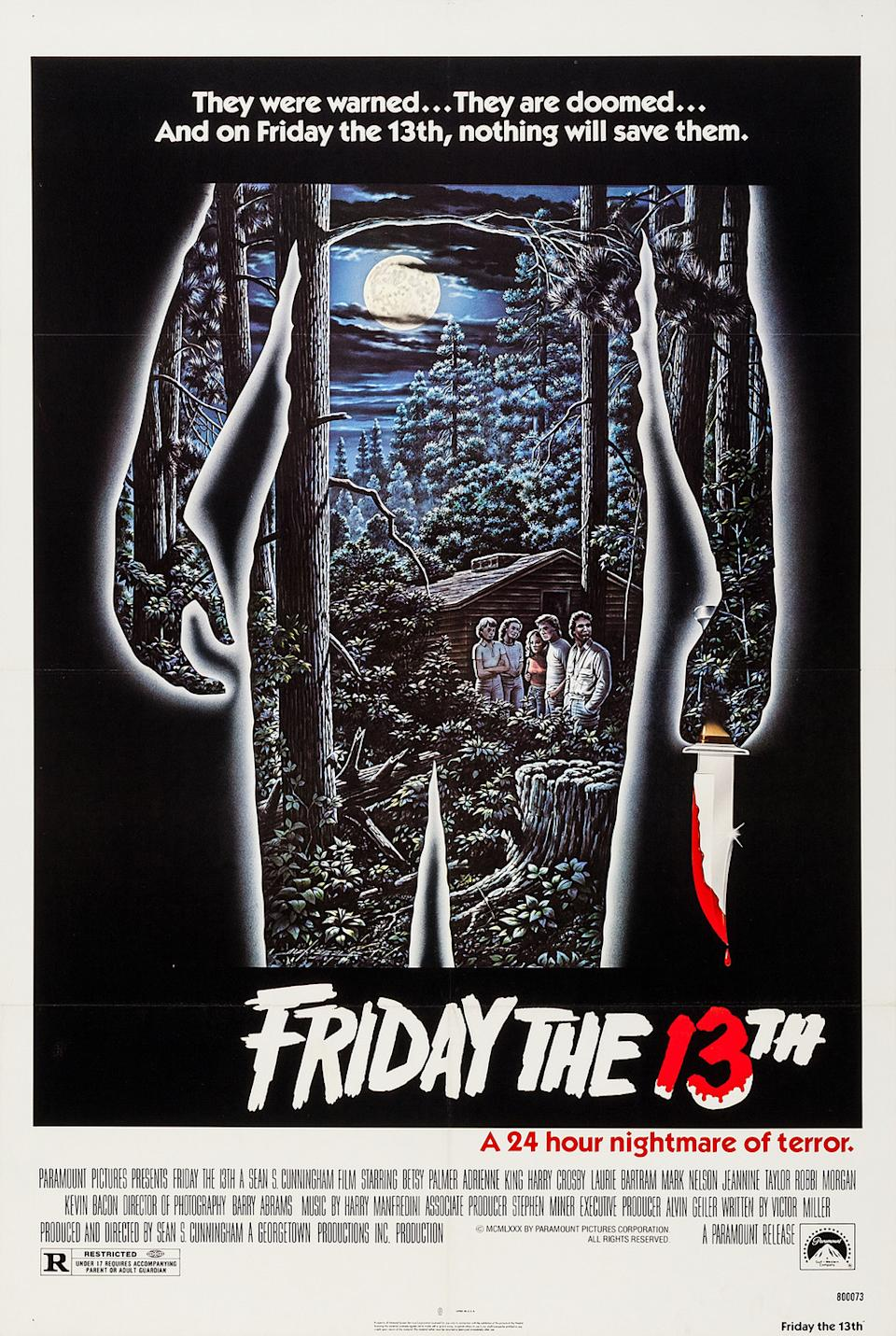 The poster for Friday The 13th (Paramount)