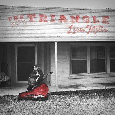 Lisa Mills THE TRIANGLE album cover.