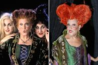 <p>The actress surely cast a spell by <span>getting into costume</span> as Winifred Sanderson once again for her annual Halloween party, benefiting the New York Restoration Project in New York City.</p>