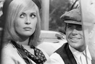 "<p>Faye Dunaway + Warren Beatty = movie GOLD. Before it was a 1967 film starring Faye Dunaway and Warren Beatty, the story of Bonnie and Clyde was splashed across the front pages of newspapers nationwide. Bonnie Elizabeth Parker and Clyde Chestnut Barrow were a pair of high-profile robbers who terrorized banks during the '30s. Their love for each other had to be strong to withstand multiple homicides.</p> <p><a href=""https://www.netflix.com/search?q=Bonnie%20and%20Clyde&amp;jbv=19054266"" class=""link rapid-noclick-resp"" rel=""nofollow noopener"" target=""_blank"" data-ylk=""slk:Watch Bonnie and Clyde on Netflix now."">Watch <strong>Bonnie and Clyde</strong> on Netflix now.</a></p>"