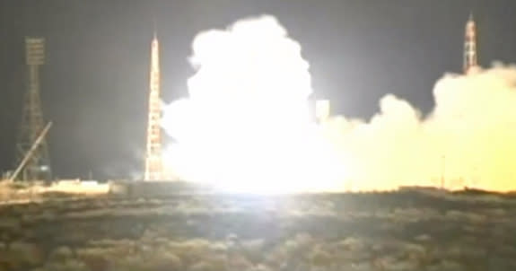 Russia Launches Robotic Supply Ship to Space Station