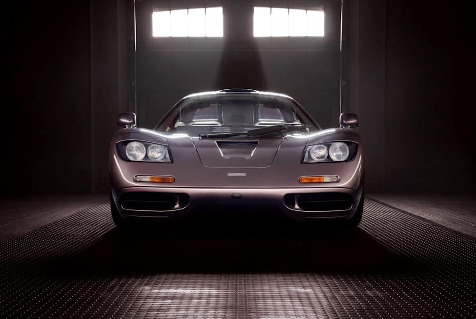 """<p>McLaren F1 chassis 029 is coming up for sale in August via Gooding & Co. With just 240 miles on the clock, it's one of the most original, pristine F1 road cars in existence. We wouldn't be surprised to see it sell at auction for more than $20 million. </p><p><a class=""""link rapid-noclick-resp"""" href=""""https://www.roadandtrack.com/news/a36729364/mclaren-f1-029-for-sale/"""" rel=""""nofollow noopener"""" target=""""_blank"""" data-ylk=""""slk:See the full story right here"""">See the full story right here</a></p>"""