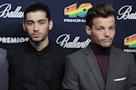 <p>After six years of boy band bliss Zayn Malik left One Directionto pursue a solo career. However, Louis Tomlinson didn't take the news too well and made bitchy dig at Zayn's new pal Naughty Boy. Where's the love guys! [GETTY] </p>