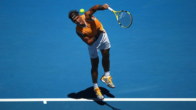Australian Open 2019  Rafael Nadal happy with new serve after comfortable  win ab5100555bc80