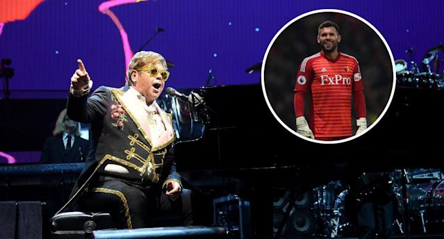 FA Cup final: Ben Foster tells Watford icon Elton John to cancel gig on historic day