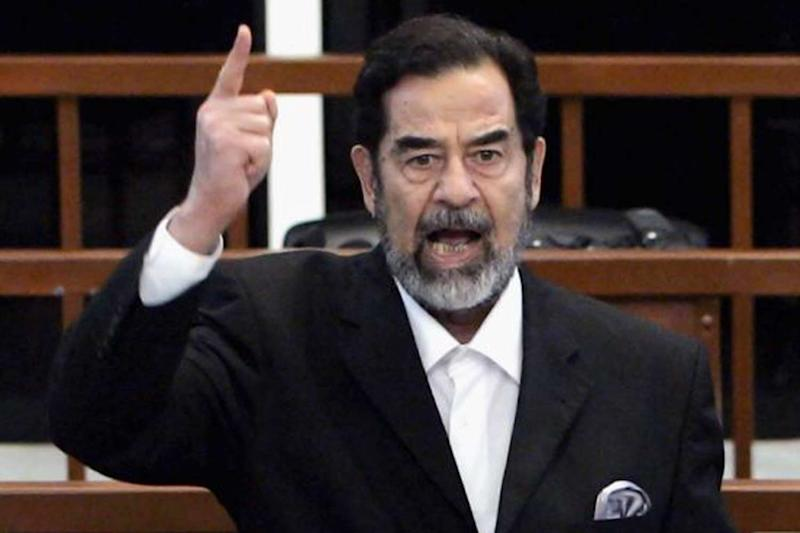 Saddam Hussein: Not a marine engineer: Getty