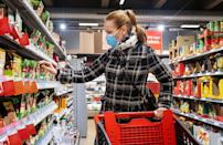 """<p>Grocery stores can get packed, especially around Thanksgiving. One of <a href=""""https://www.thedailymeal.com/grocery-shopping-during-coronavirus?referrer=yahoo&category=beauty_food&include_utm=1&utm_medium=referral&utm_source=yahoo&utm_campaign=feed"""" rel=""""nofollow noopener"""" target=""""_blank"""" data-ylk=""""slk:the ways that grocery shopping has changed"""" class=""""link rapid-noclick-resp"""">the ways that grocery shopping has changed</a> this year is that you're going to want to avoid crowds, which means going during off-hours, like nights, evenings and mid-day. You'll have space to social distance and the time to go through your list with care.</p>"""