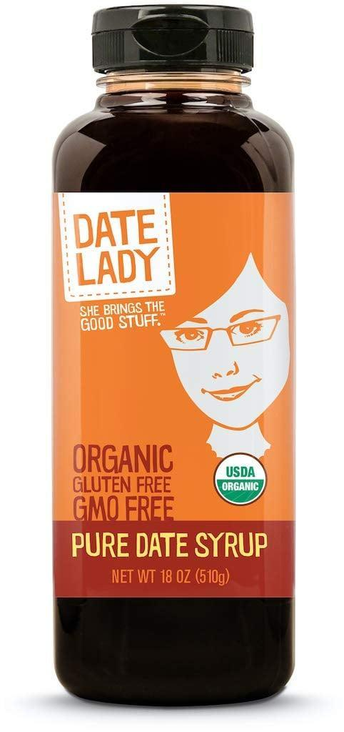 <p>The <span>Date Lady Organic Date Syrup</span> ($12) is vegan, paleo, gluten-free and kosher. It's a versatile sugar substitute that will taste phenomenal on pankcakes, baked goods, lattes and more. </p>