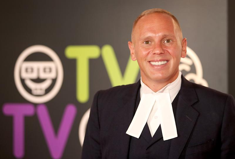 Criminal barrister Judge Robert Rinder at the 2017 Edinburgh International Television Festival at the Edinburgh International Conference Centre.