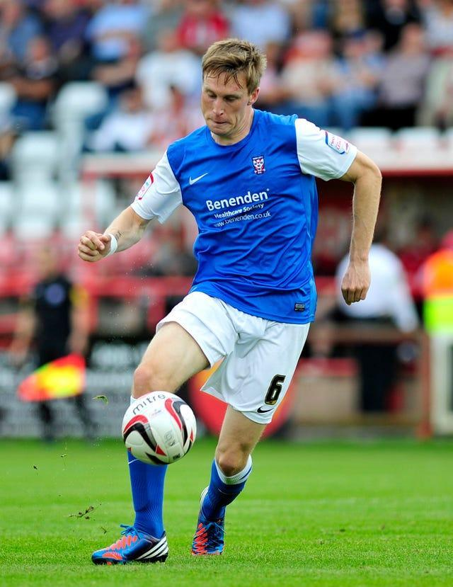 Former York defender Daniel Parslow was forced to retire after suffering a concussion xeter City v York City – St James' Park