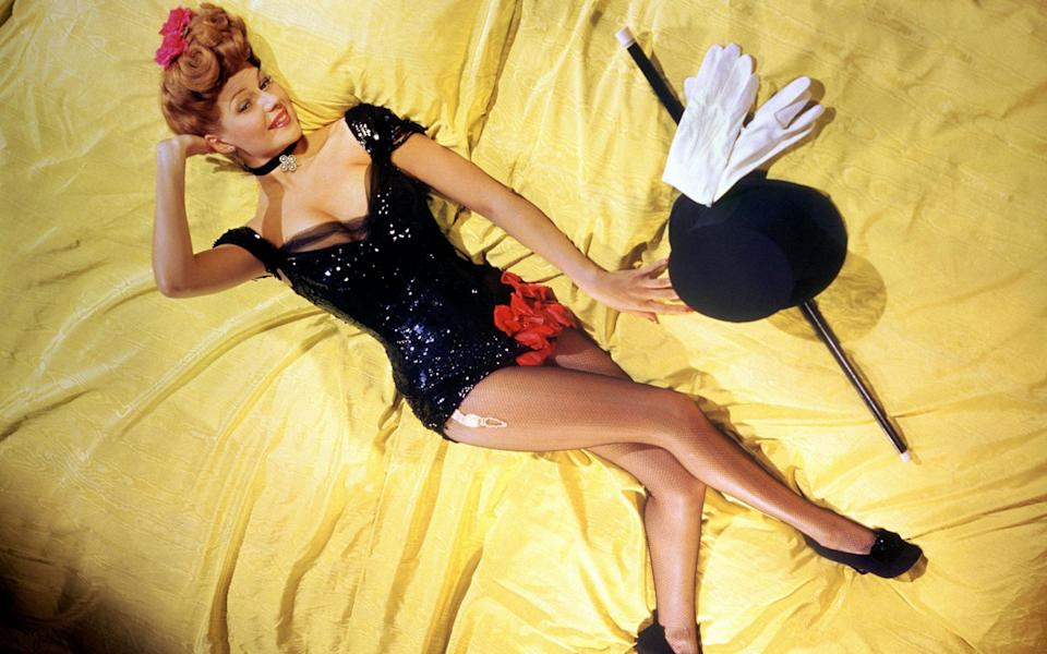 'I am attracted to mean personalities': Rita Hayworth in 1944 - Getty