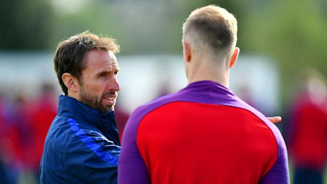 Big calls: But Gareth Southgate's selection wasn't the only things causing online issues
