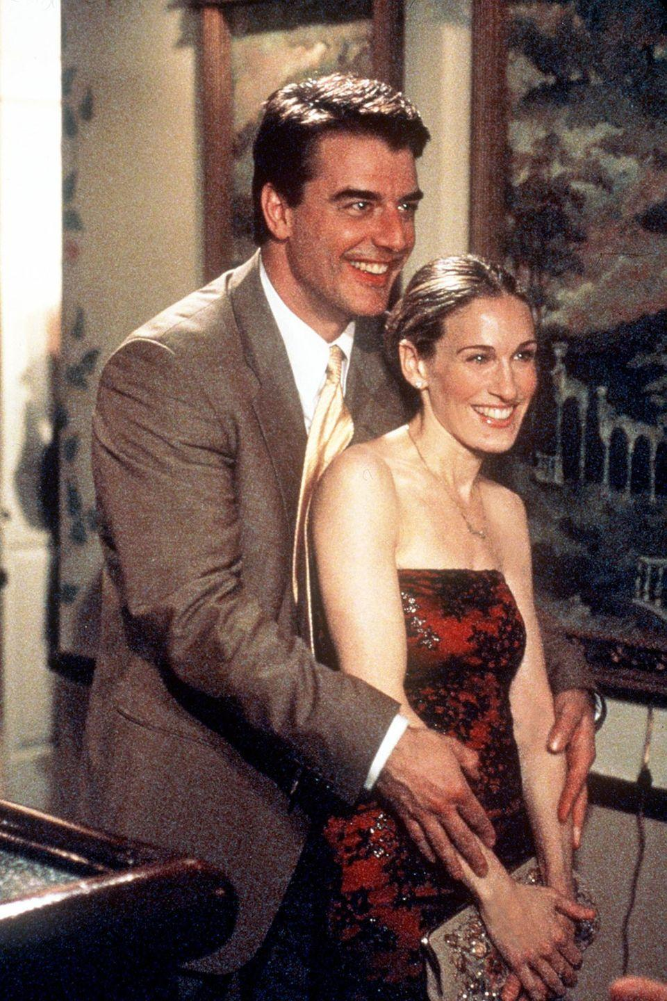 <p>It took them six seasons and many other partners, but he finally said she was the one. </p>
