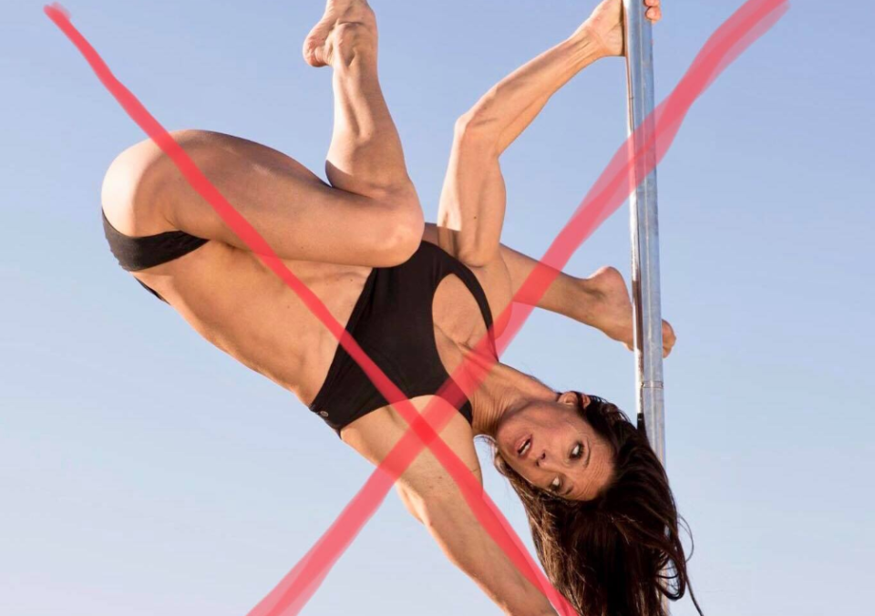 """Pole dancers from around the world are banning together to fight against Instagram's new policies deeming their content """"inappropriate."""" (Photo: Facebook)"""