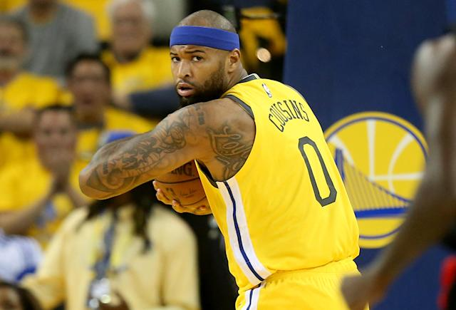 Golden State Warriors' DeMarcus Cousins #0. (Photo by Jane Tyska/MediaNews Group/The Mercury News via Getty Images)