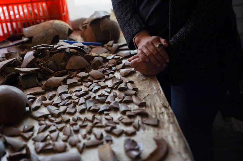 Treasures dug up from ancient Mexican city reveal lavish religious devotion