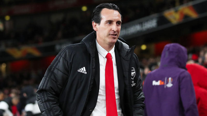 Arsenal has sacked Unai Emery. (Getty Images)