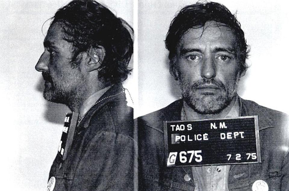 Dennis Hopper The 'Easy Rider' was busted by New Mexico police in 1975 and charged with reckless driving.