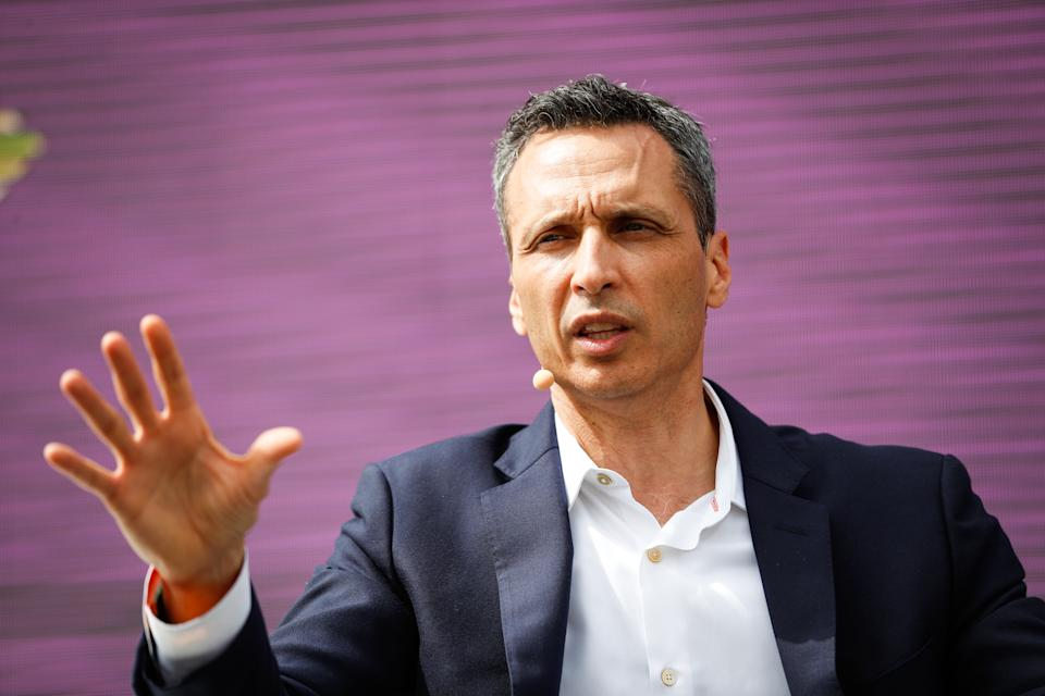 ESPN president Jimmy Pitaro reportedly spoke with Dan Le Batard, but the radio host remained on the air Friday. (Getty)