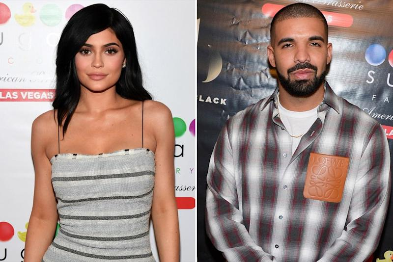 Kylie Jenner, Drake   Ethan Miller/Getty Images, Bryan Steffy/WireImage