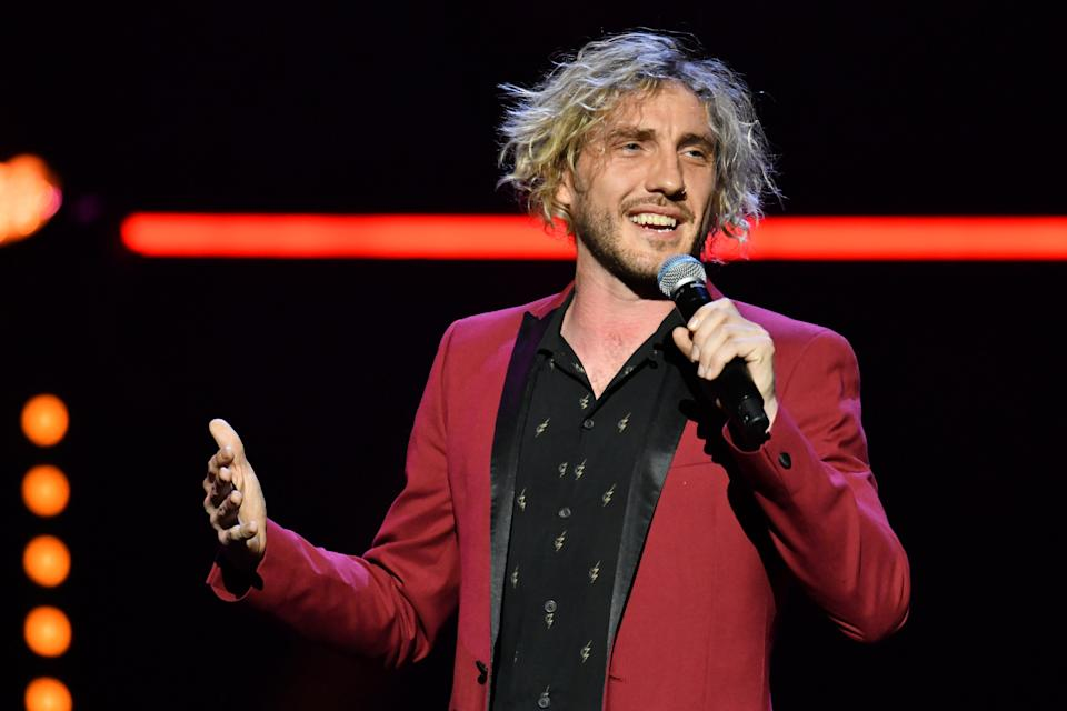 Seann Walsh performing at the Royal Albert Hall. (Getty Images)