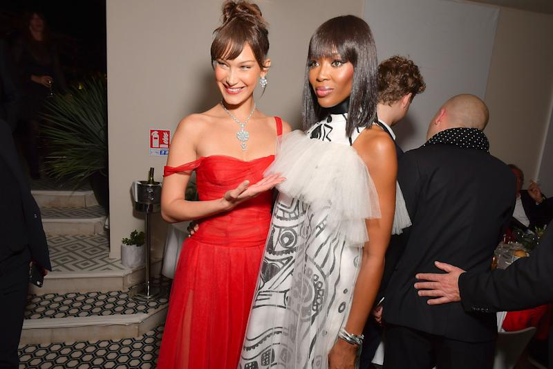 Cannes 2018: Naomi Campbell Makes Fashionably Late Entrance