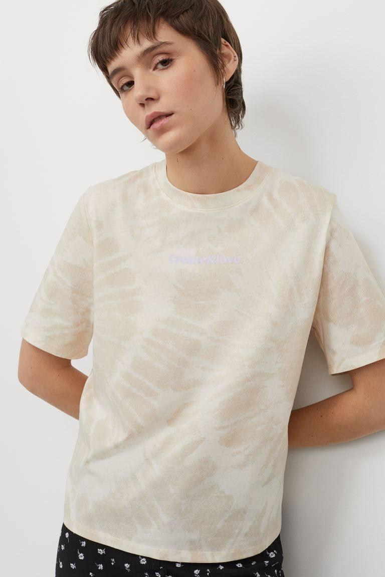 <p>You'll reach for this <span>Printed T-shirt</span> ($13) every day.</p>