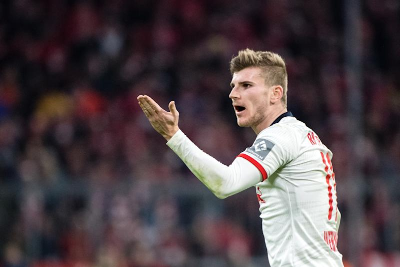 Are you a capitalism stan? Then Timo Werner and RB Leipzig are your guys. (Photo by Matthias Balk/picture alliance via Getty Images)